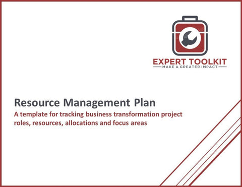 Resource Management Plan Guide And Template - Default - Template