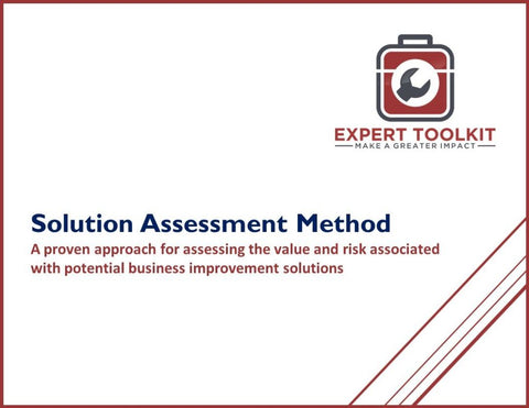 Solution Assessment Method Guide & Template - Default - Template