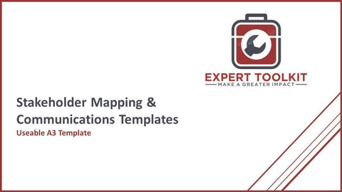 Stakeholder Mapping & Comms Templates - Default - Template
