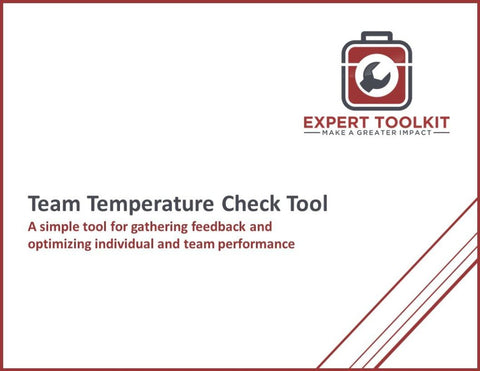 Team Temperature Check Tool & Guide - Default - Template