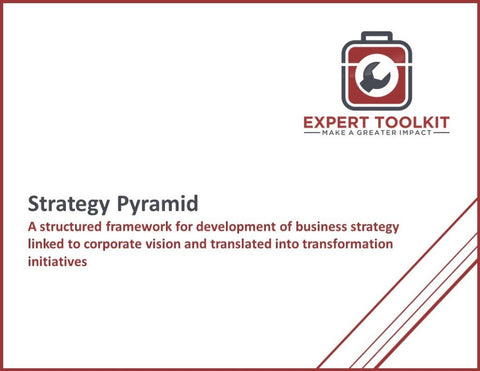The Strategy Pyramid Guide And Template - Default - Template