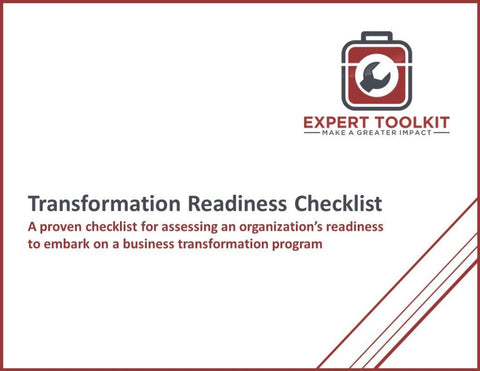 Transformation Readiness Checklist Template & Guide - Default - Template