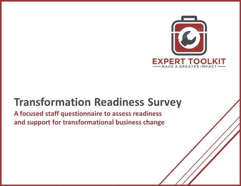 Transformation Readiness Survey Guide And Template - Default - Template