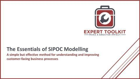 How to SIPOC modelling as a business analysis tool by expert toolkit