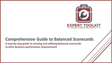 How to do balanced scorecards by expert toolkit