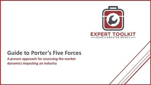 Learn how to use Porters Five Forces to support make your business analysis more effective - by Expert Toolkit