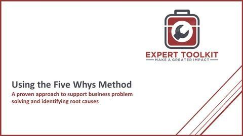 Learn how to use the Five Whys Method like a management consultant to conduct highly effective business analysis