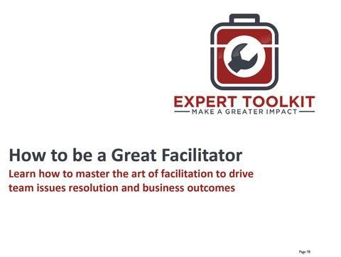 How to Facilitate Workshops like a Management Consultant by Expert Toolkit