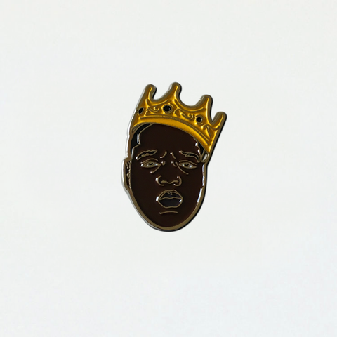 BIG Crown Dark Pin