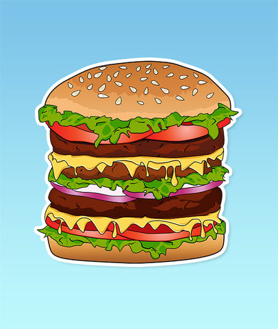 BIG Burger Sticker
