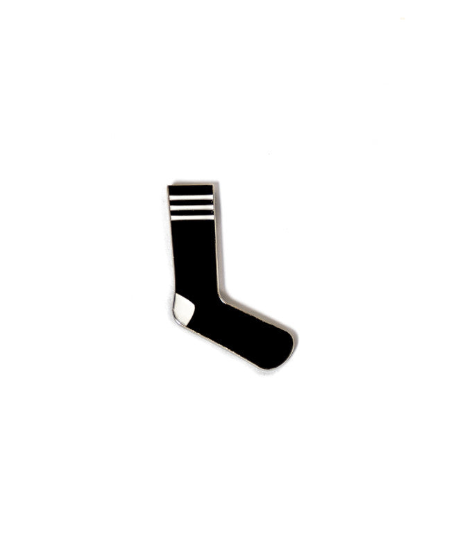 Sock Pin - Black and White