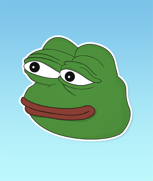 Frog Meme Sticker