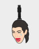 Kim Crying Luggage Tag