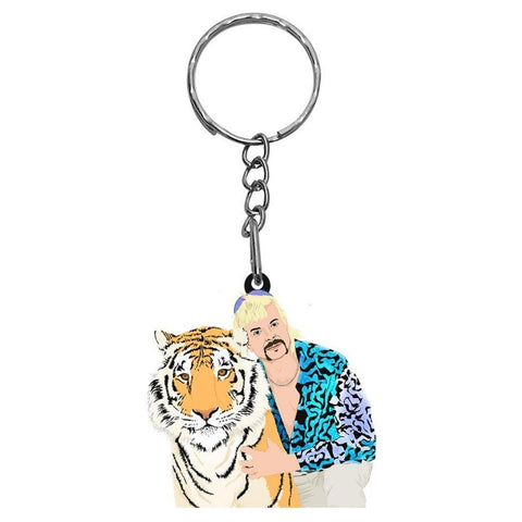 Tiger King Key Chain