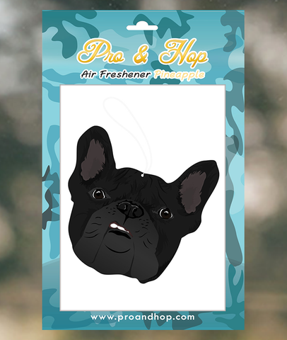 French bulldog Dark Face