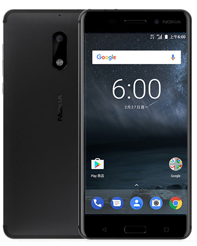 Nokia 6 Dual Sim (4GB, 64GB) Global Version Smartphone