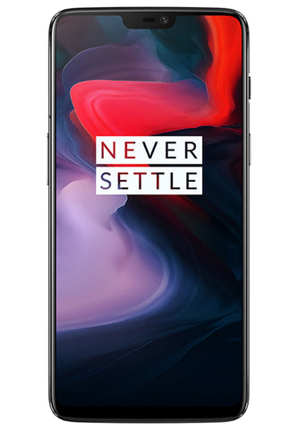 OnePlus 6 Dual Sim (8GB, 128GB) - Mirror Black