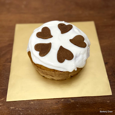 "5"" Round Shape Barkday Cake"