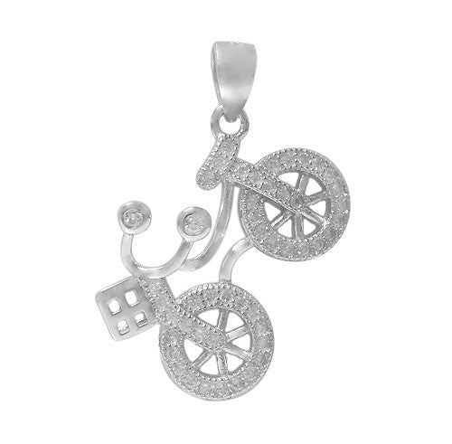 Bicycle Pendant - North Jewellery
