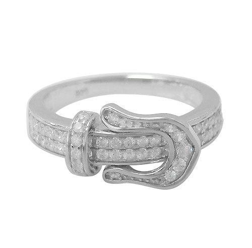 Buckle Ring - North Jewellery