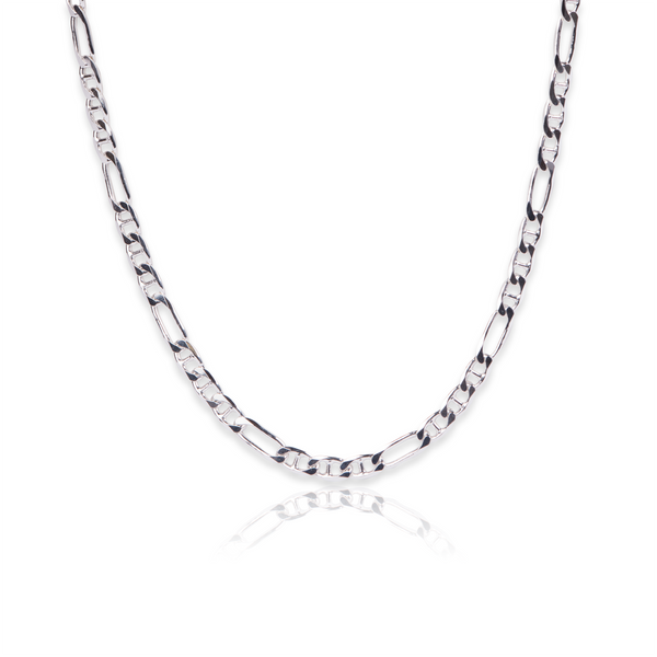 Sterling Silver Figarucci chain - Made in Italy.