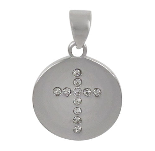Crosses with Stone Plain Disc