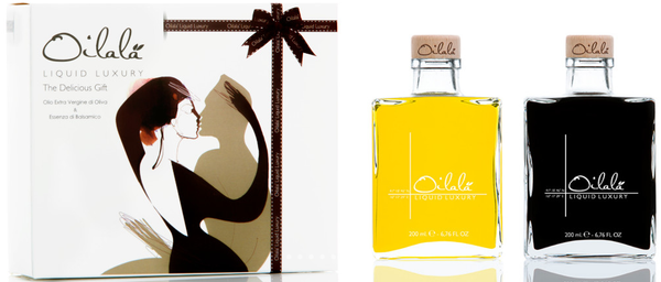 Delicious Gift Box - Extra Virgin Olive Oil & Balsamic Vinegar