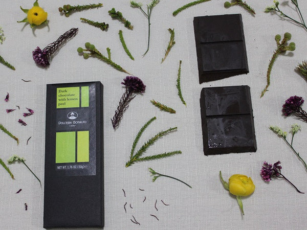 Pure Dark Chocolate with Lemon Peel