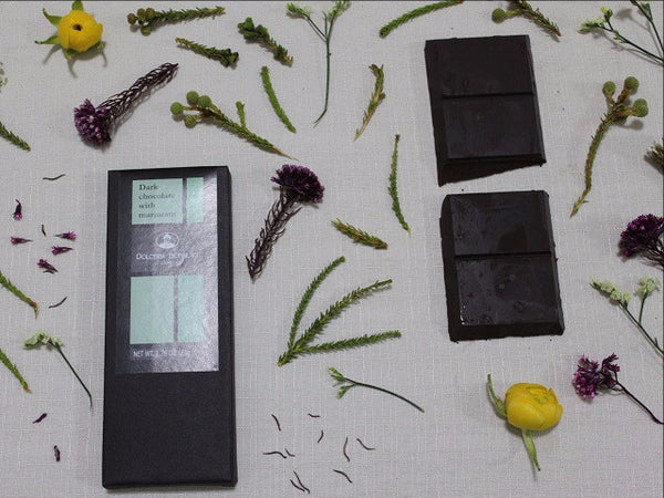 Pure Dark Chocolate with Marjoram