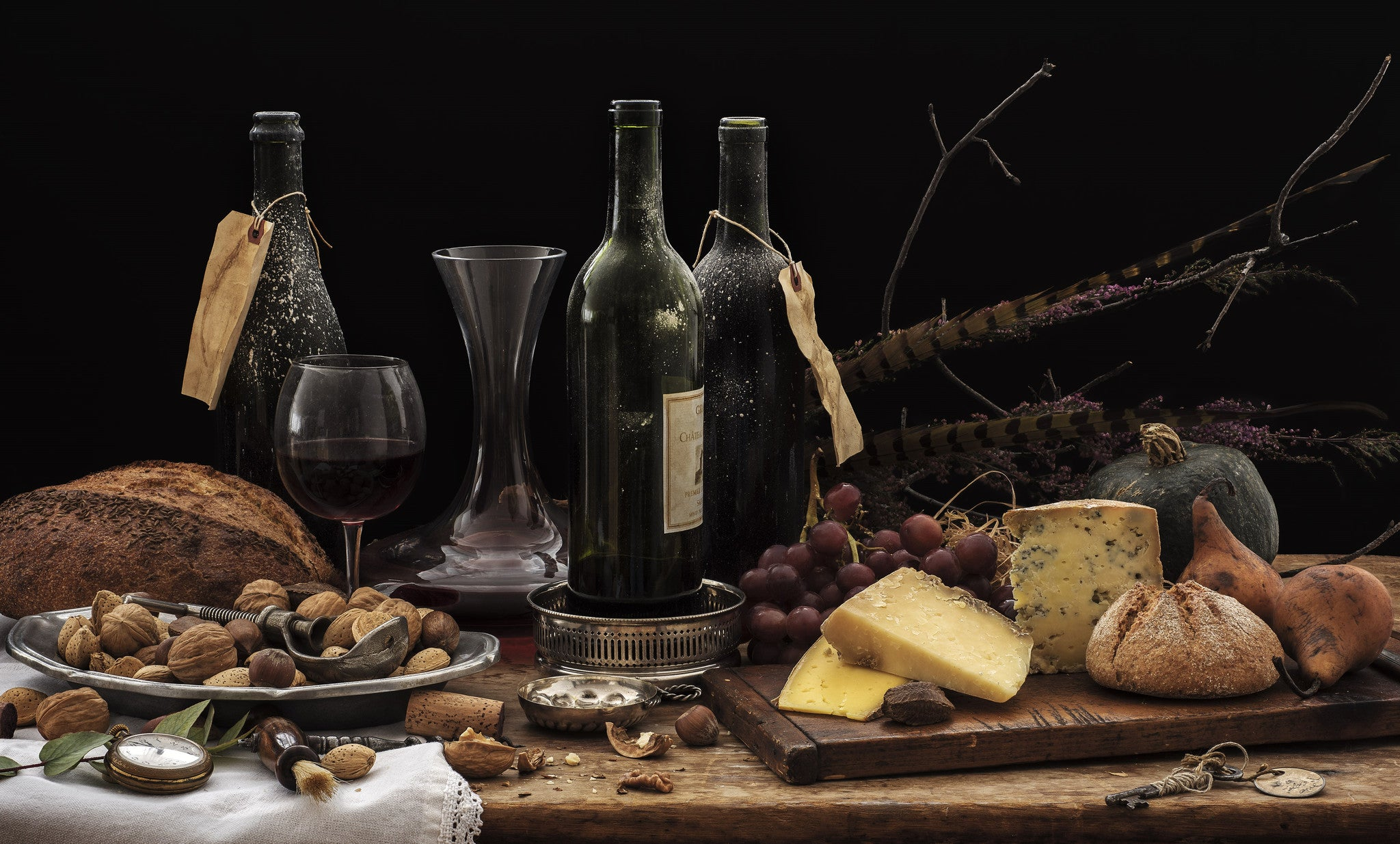 Fine Cheeses with Fine Wines