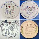 Wedding  Keepsake Plate 🤵👰