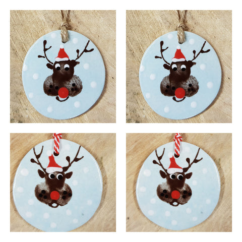 🎄Christmas Reindeers /Set of 4