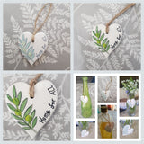 Set of two Olive leaf Hearts-  Fundraising Project