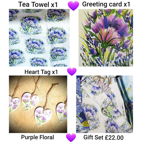 Purple Poppy Gift Set -Free Postage