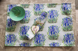 Tableware Set For One - Lavender Field Design - Free Postage