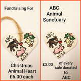 Christmas Heart /Fundraising for ABC Animal Sanctuary