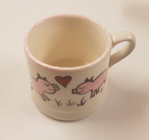 Christmas Animal Small Pig Mug