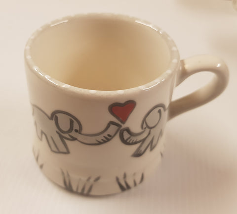 Christmas Animal Mug /Elephant