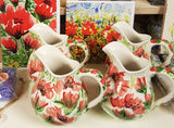 Milk Jug -  Red Poppy Design