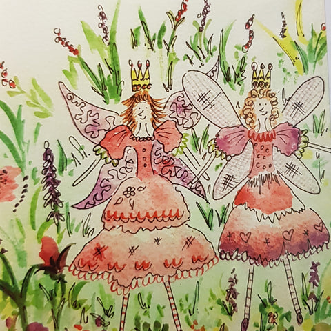 Card - Fairy Best Friends