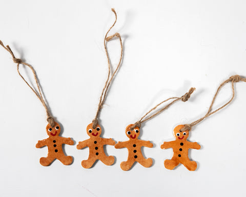 Christmas Gingerbread Men Set