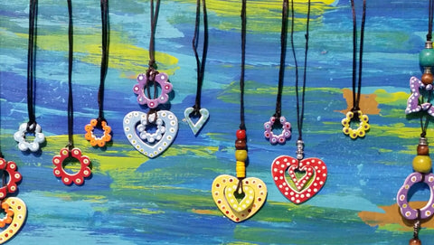 CERAMIC JEWELLERY sold only at outside events