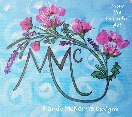 Mandy McKenna Designs - Taste the Colourful Art
