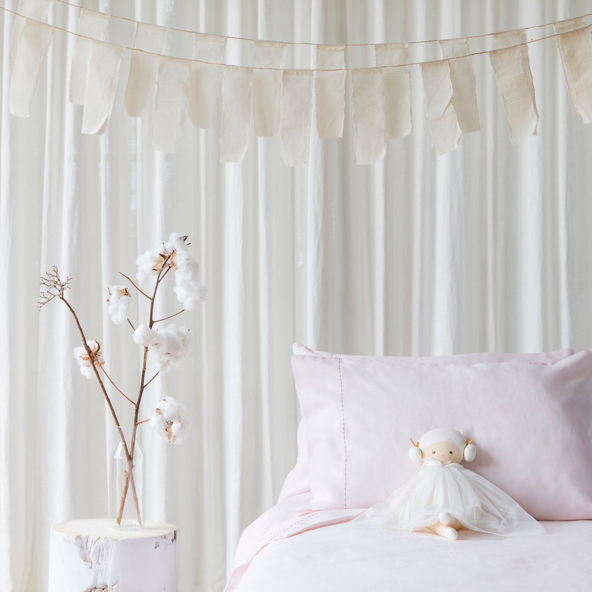 kids linen bedding
