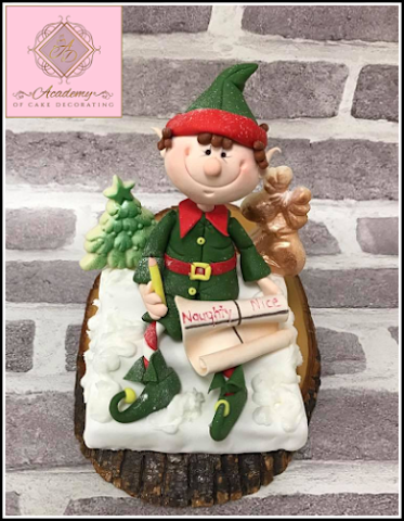 How to make a fondant elf ( modelling)