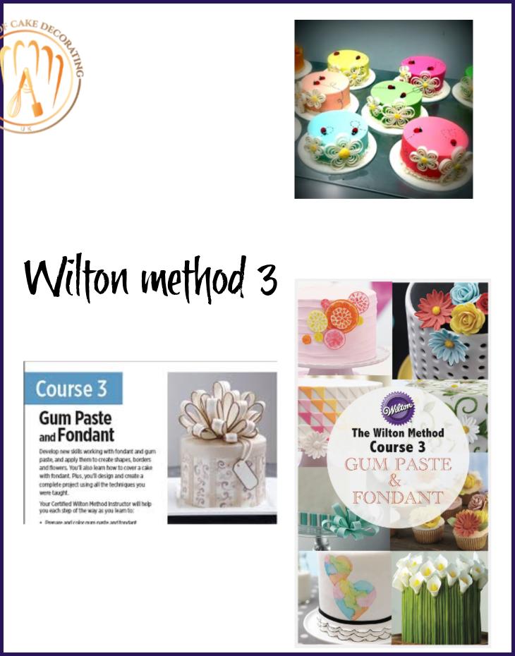 WILTON METHOD 3: FONDANT & GUMPASTE