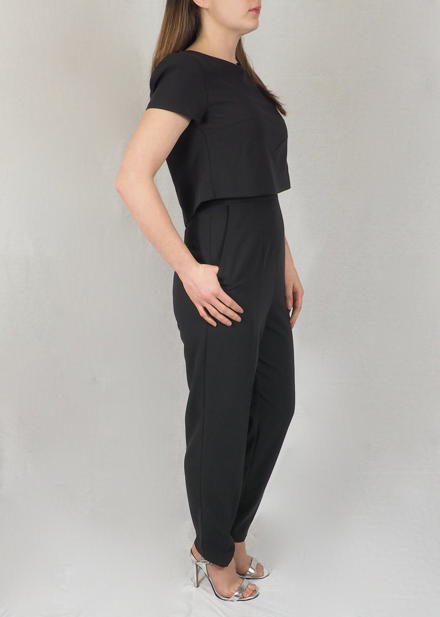 The Breastfeeding Jumpsuit - Black