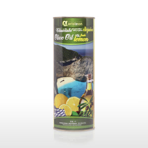 1LTR Lemon Infused Greek Extra Virgin Olive Oil