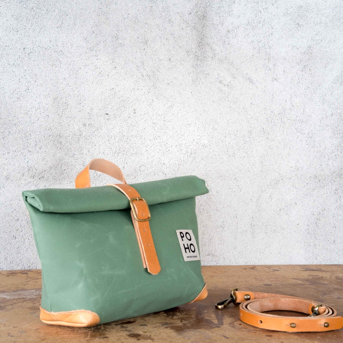 Poho Bag · Verde Mar