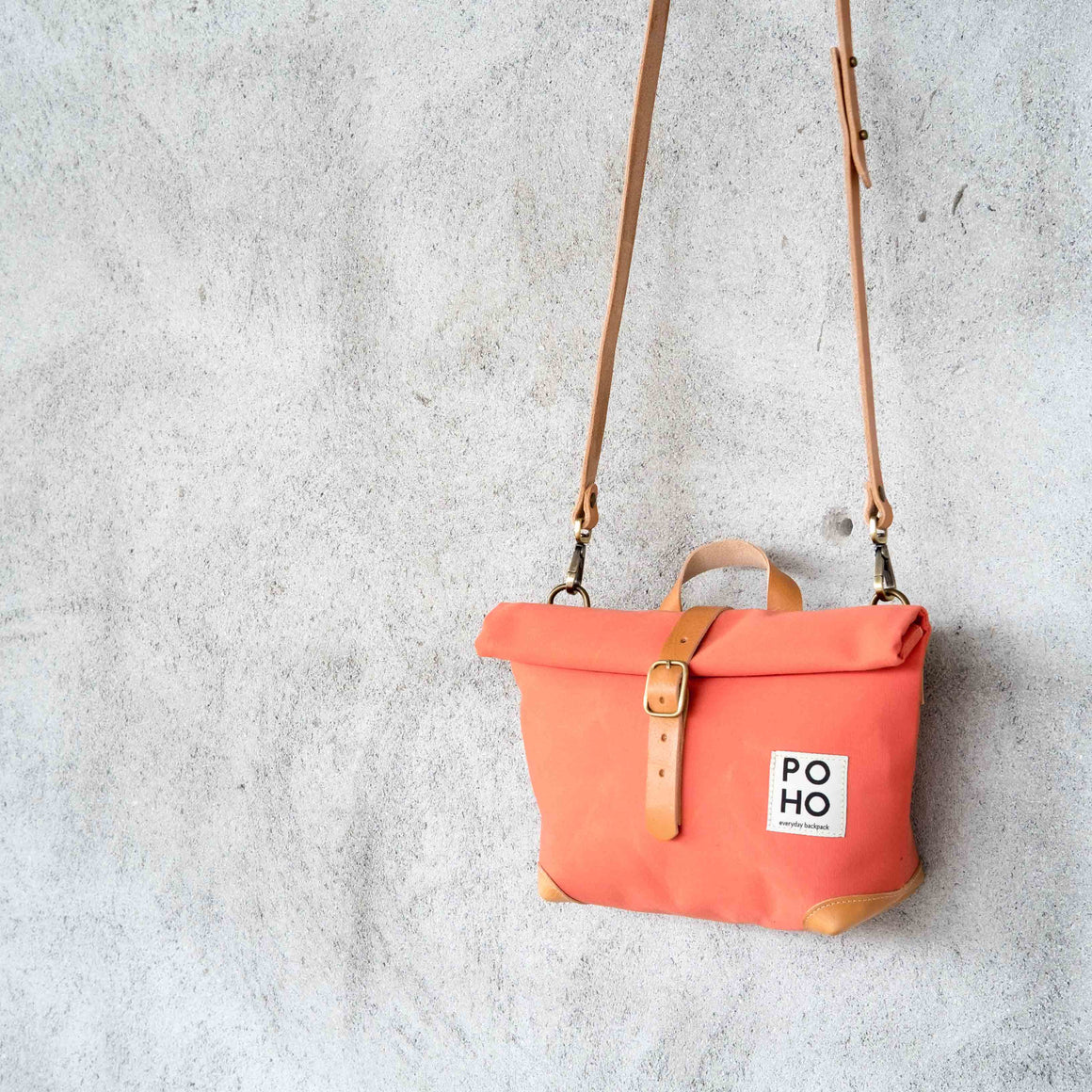 Poho Bag · Salmon